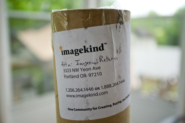 "I added ""Attn: Imagekind Returns"" before shipping the package back"