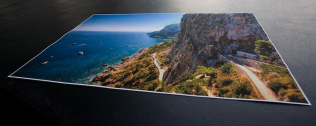 "Another view of the ""Capri Unfolding"" print"