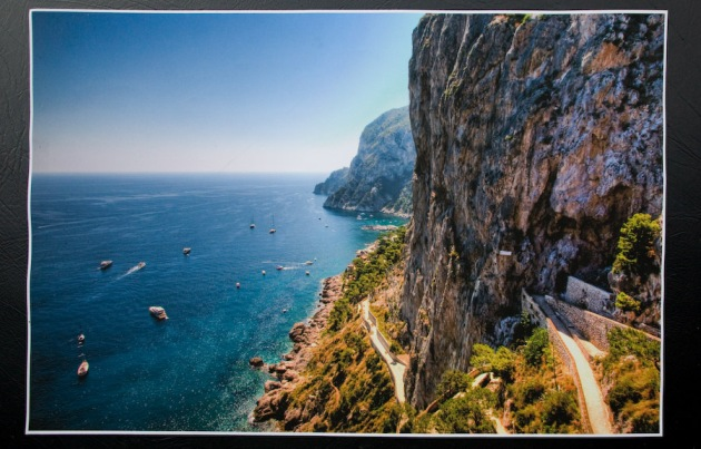 "Imagekind's print of ""Capri Unfolding."""